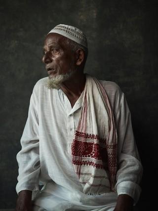 Monser Ali, 90, from Kakdhuwa Char.