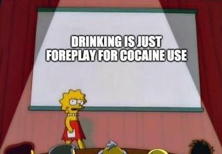 cocaine meme