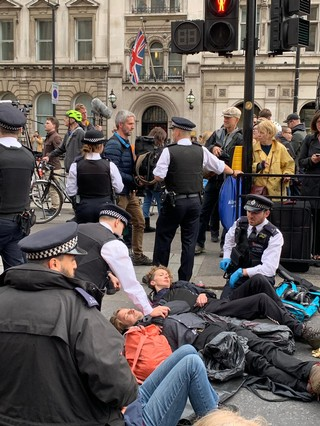 XR protest London by Helen Thomas
