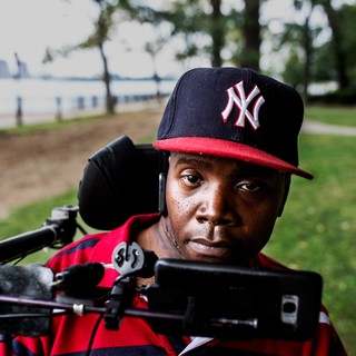 Levar is a member of the Reality Poets, and a survivor of gun violence.