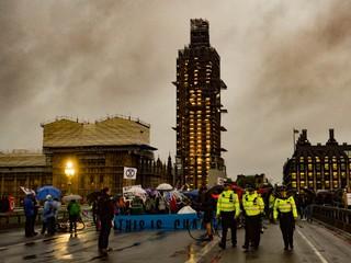 westminster bridge protest