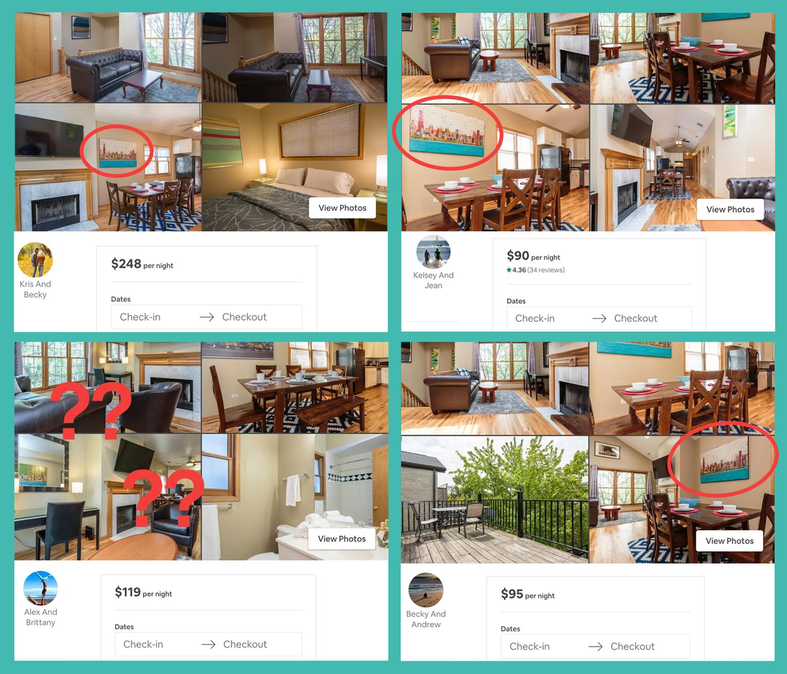 Airbnb inserat löschen