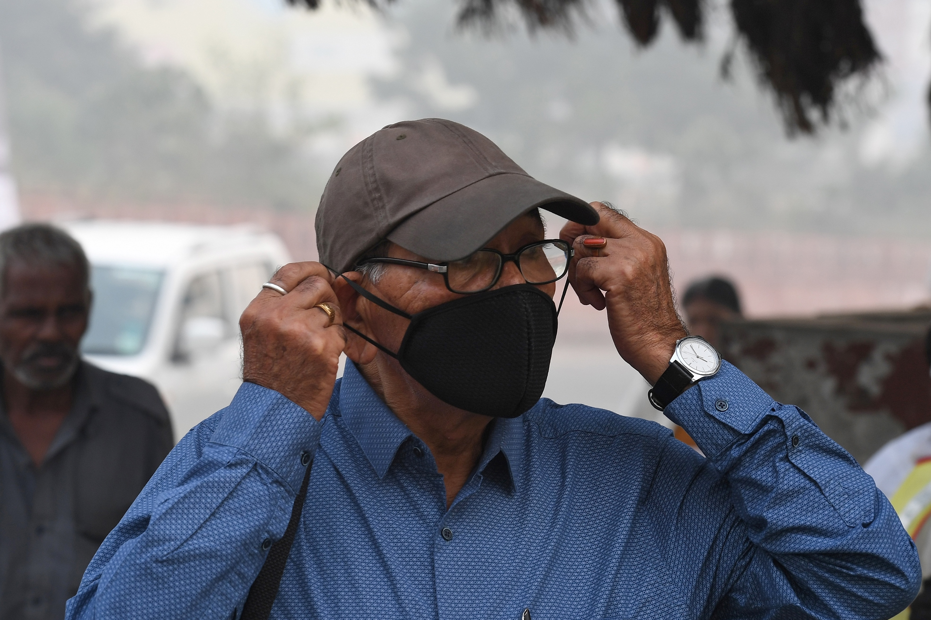 delhi smog pollution india