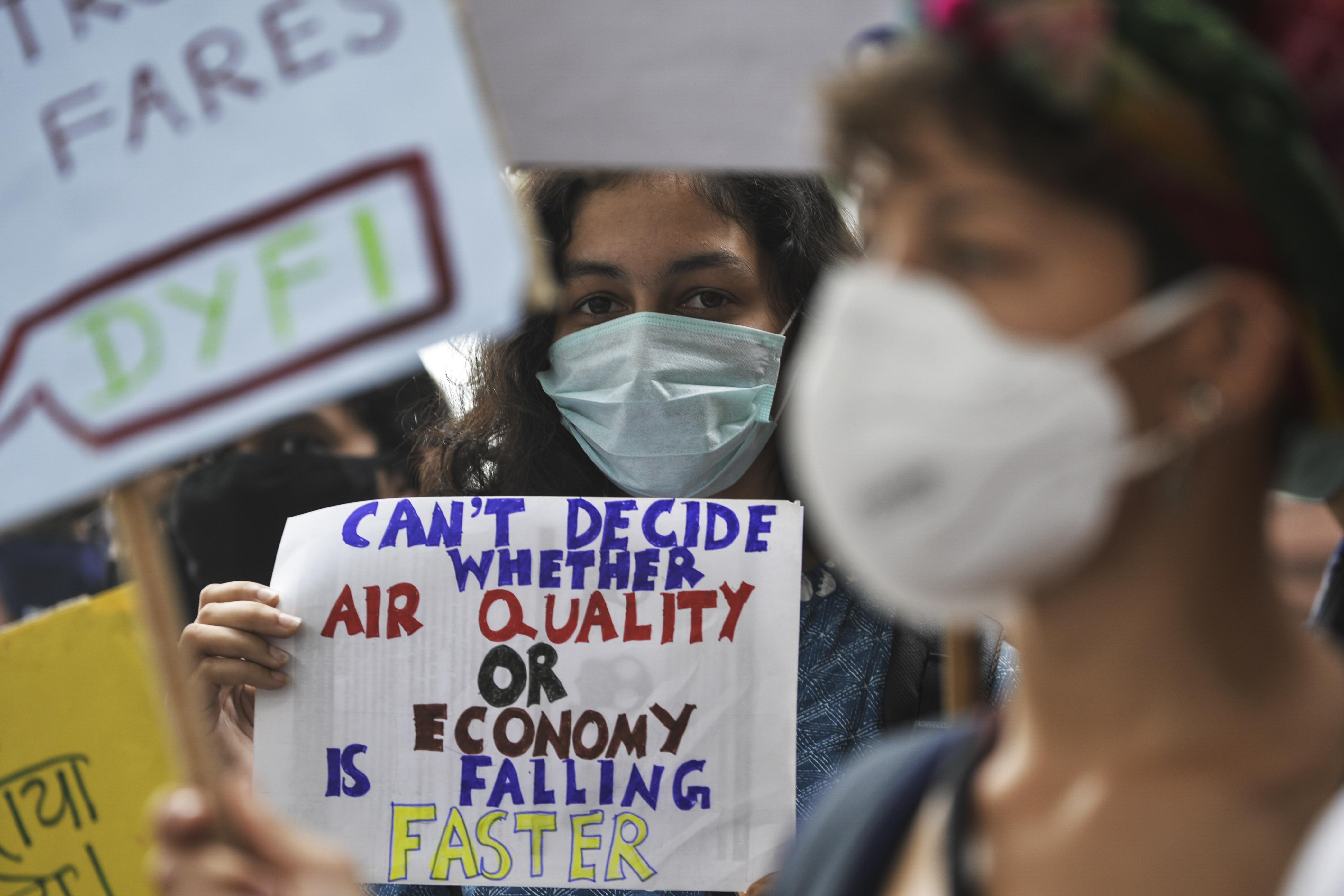 delhi smog air pollution