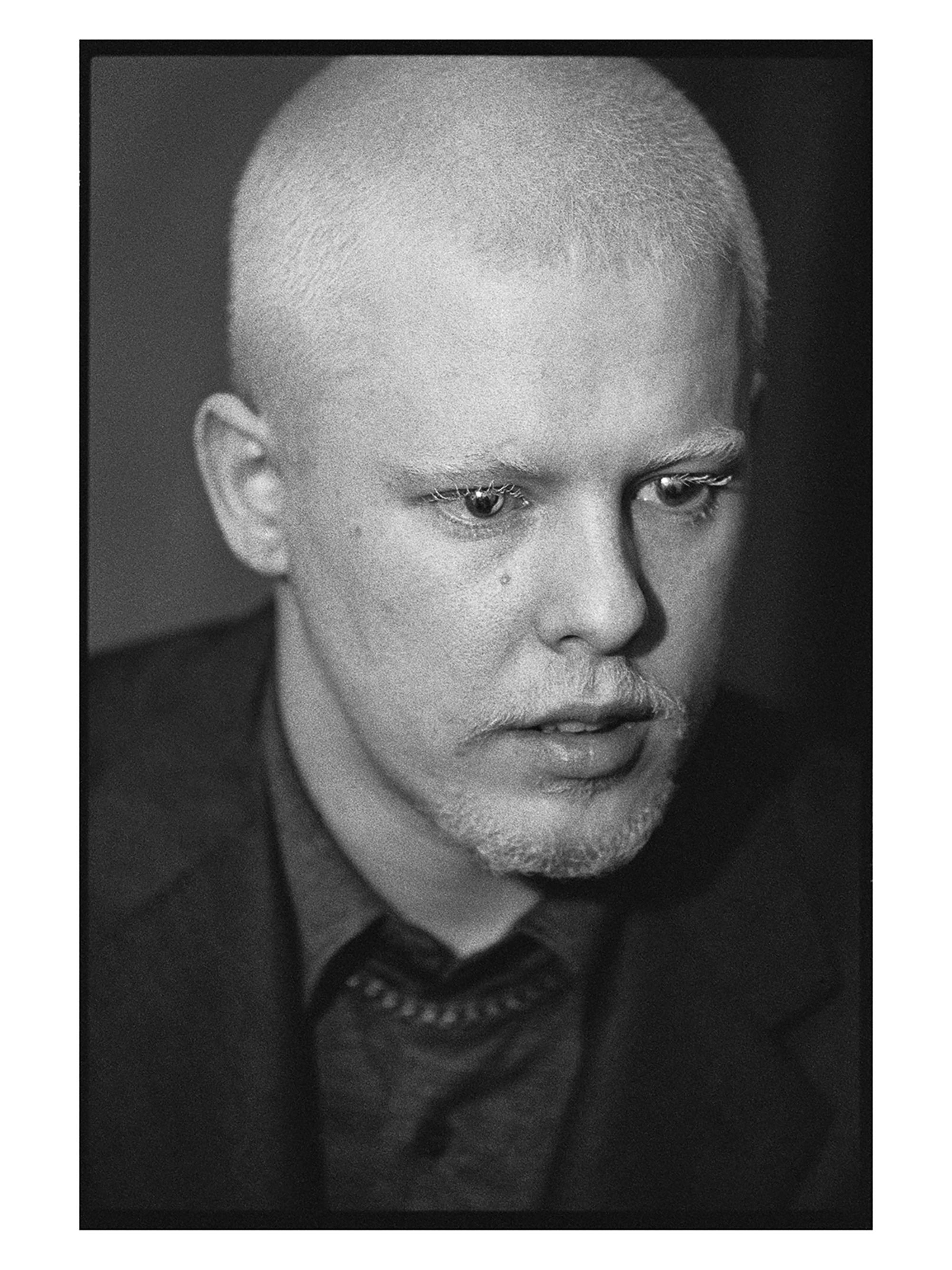 Alexander McQueen portrait by Ann Ray