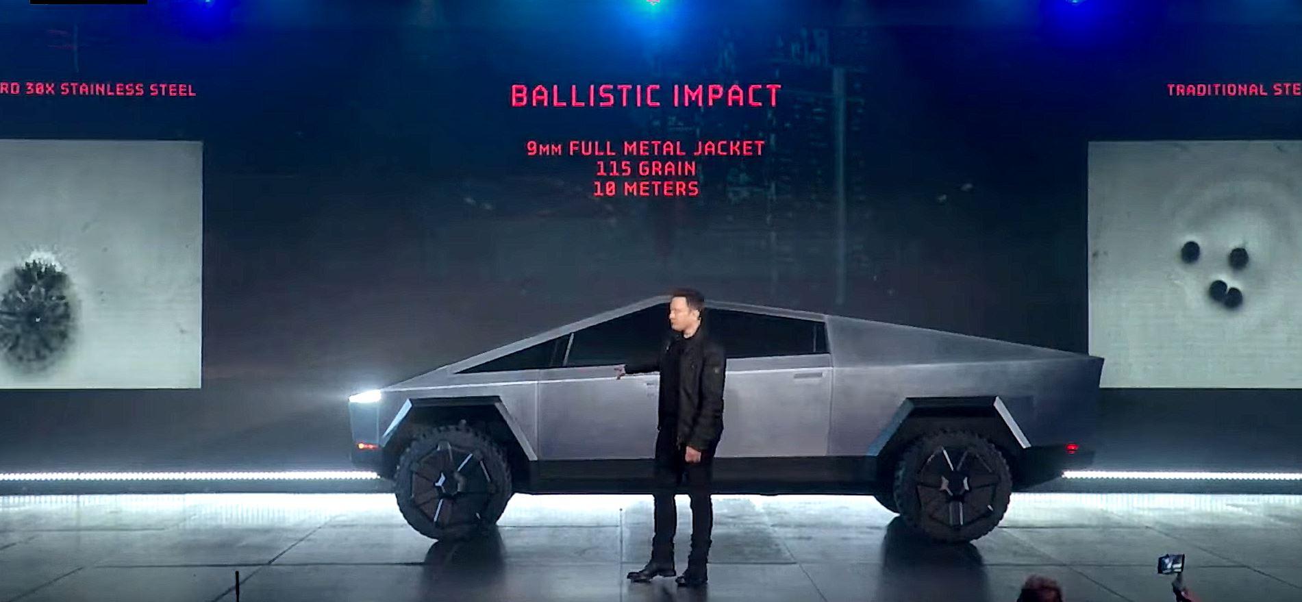 Tesla Cybertruck reveal