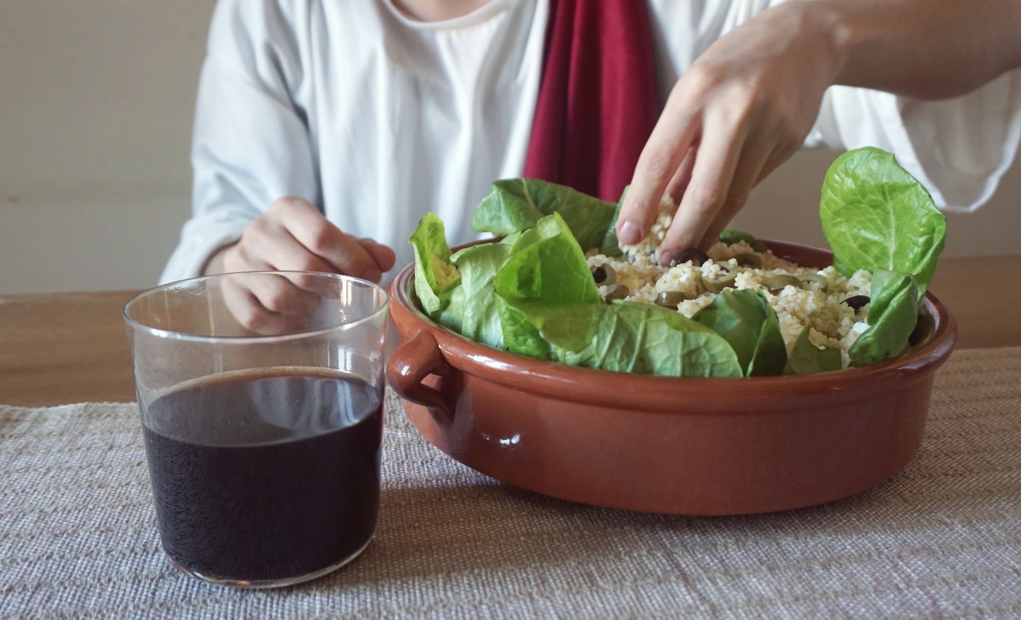 dieta di gesu vino