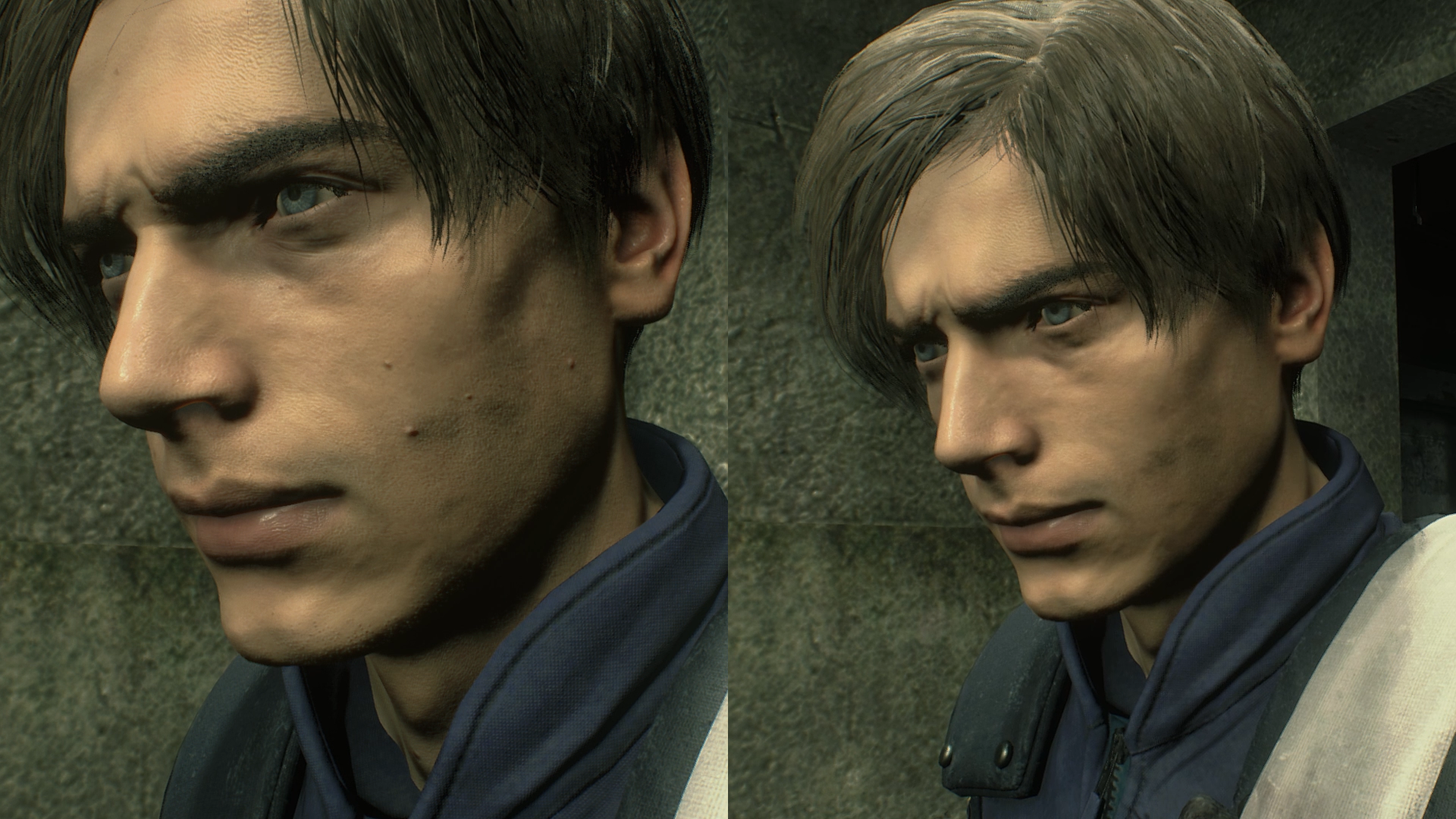This Resident Evil 2 Mod Removes Moles From Leon S Face But Why