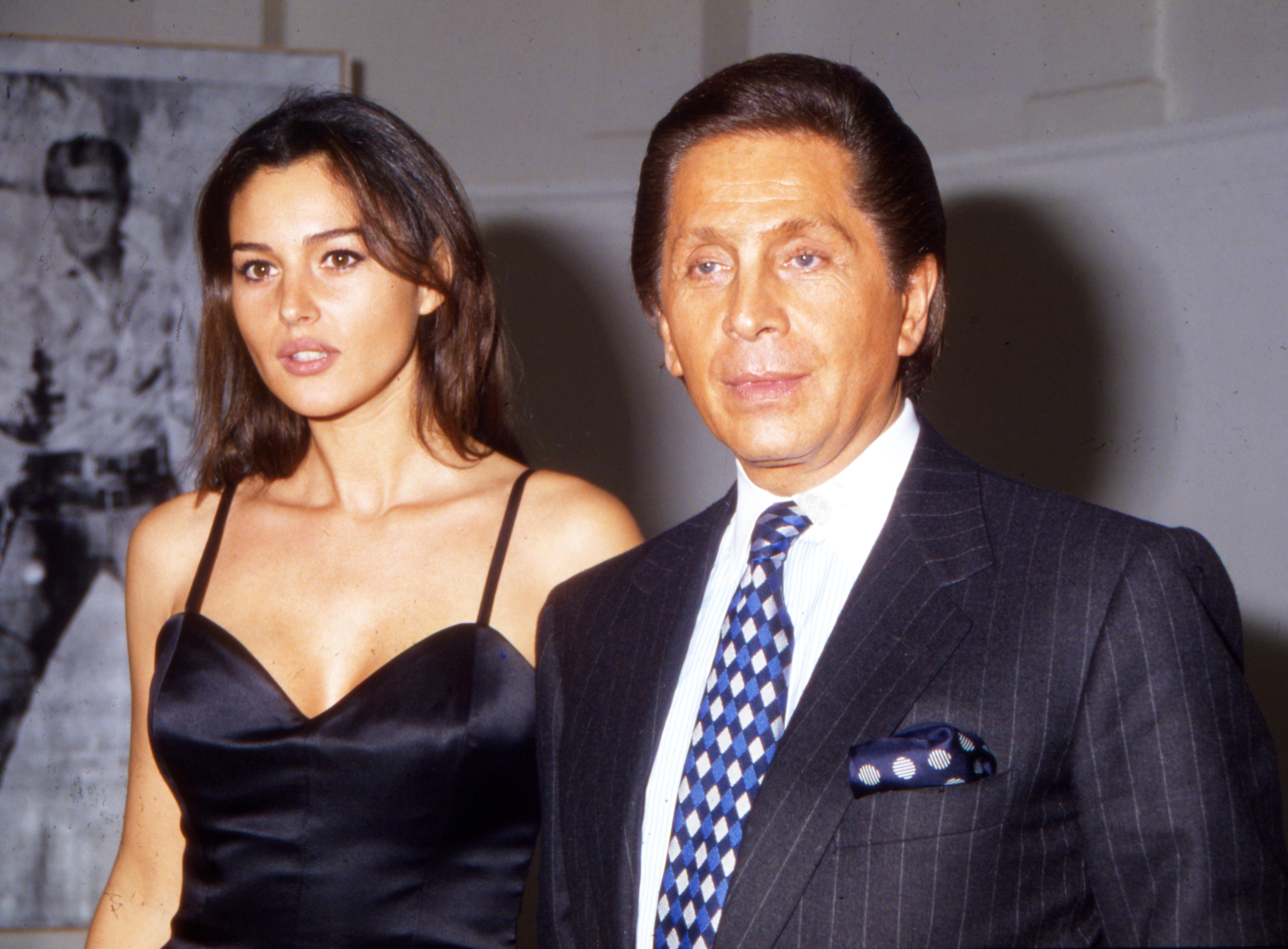 Monica-Bellucci-and-Valentino