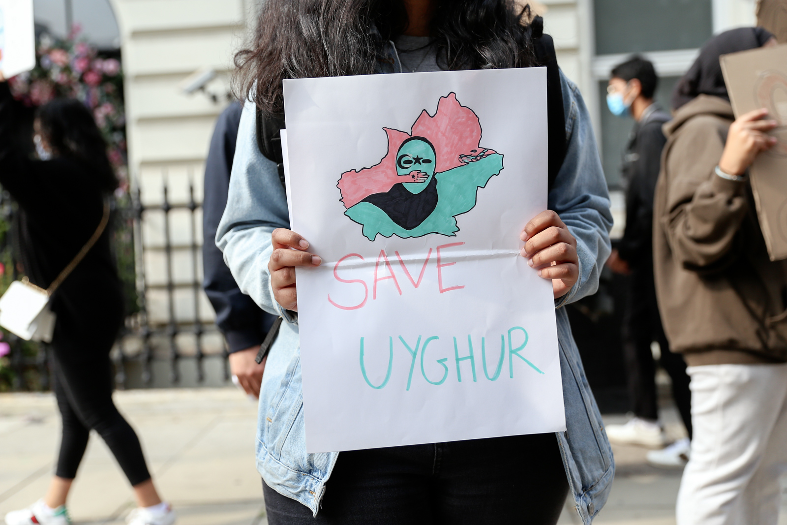 Vice - Chinese Embassy Uyghur Protest - Photos Bex Wade-22.jpg