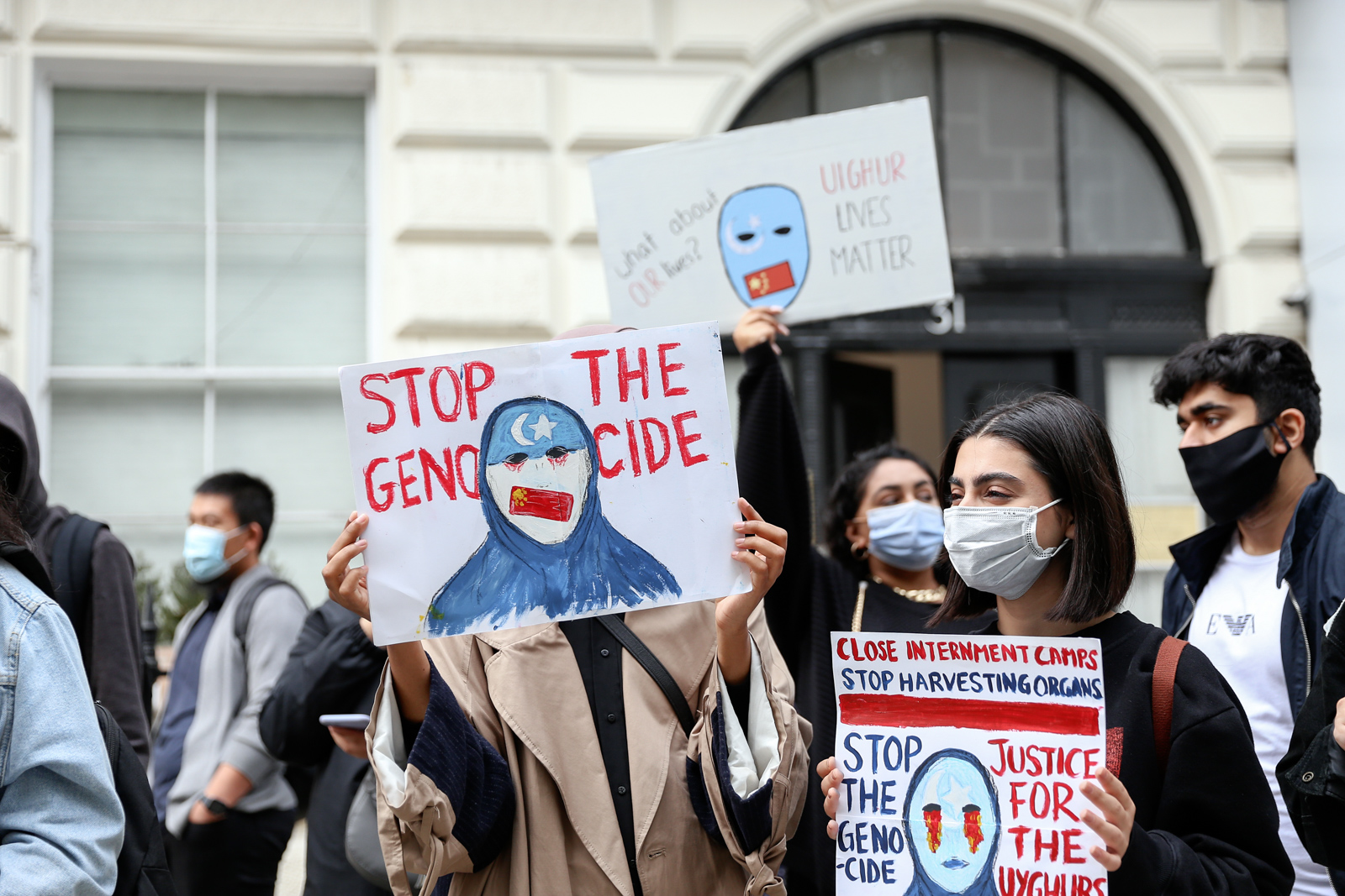 Vice - Chinese Embassy Uyghur Protest - Photos Bex Wade-9.jpg