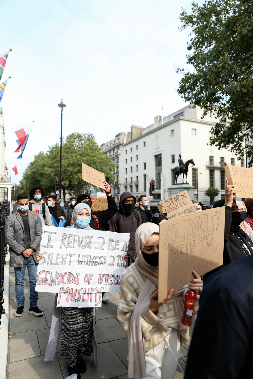 Vice - Chinese Embassy Uyghur Protest - Photos Bex Wade-20.jpg