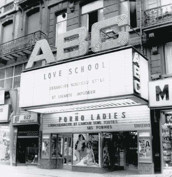 Cinema ABC Bruxelles Anspach archives