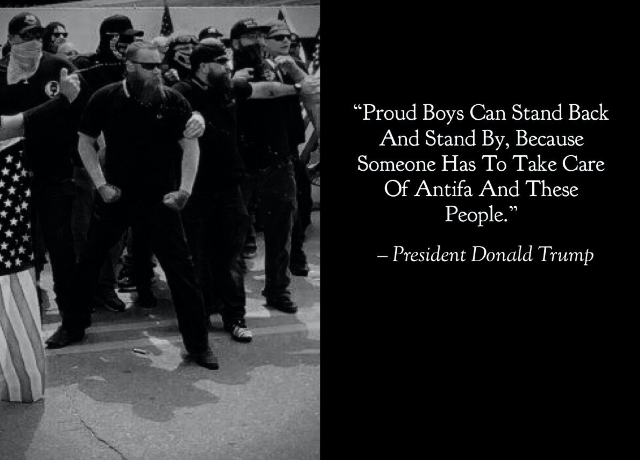 Proud Boys meme