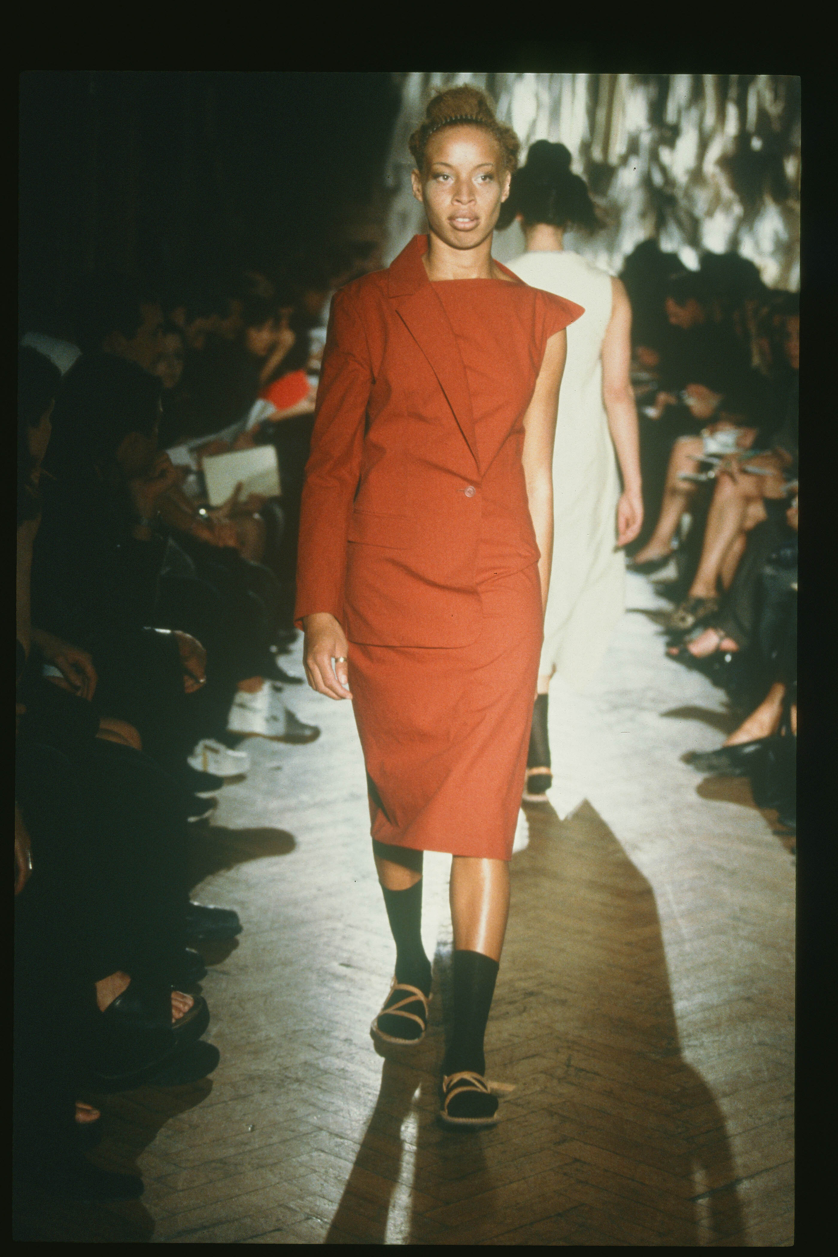 Joe Casely-Hayford SS99 modelled by Stacey McKenzie
