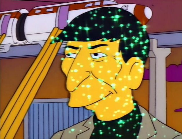 Leonard Nimoy en The Simpsons S4E12