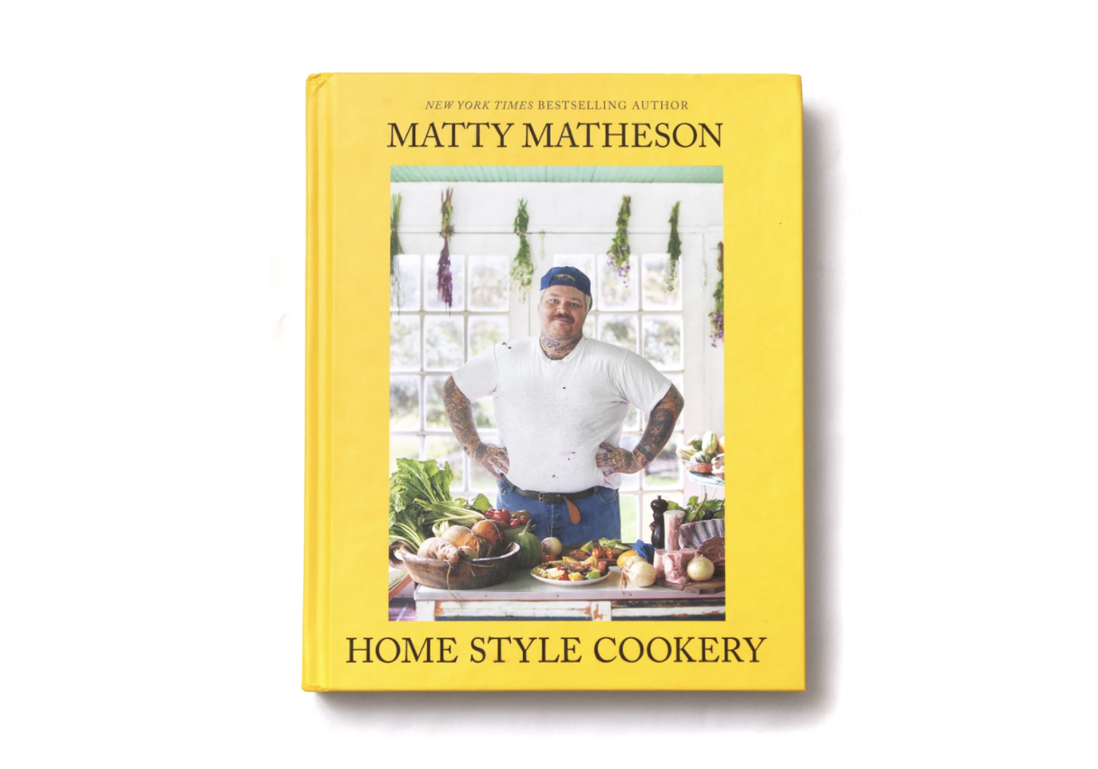 matty matheson home style cookery cookbook