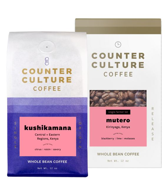 Counter Culture coffee in bags