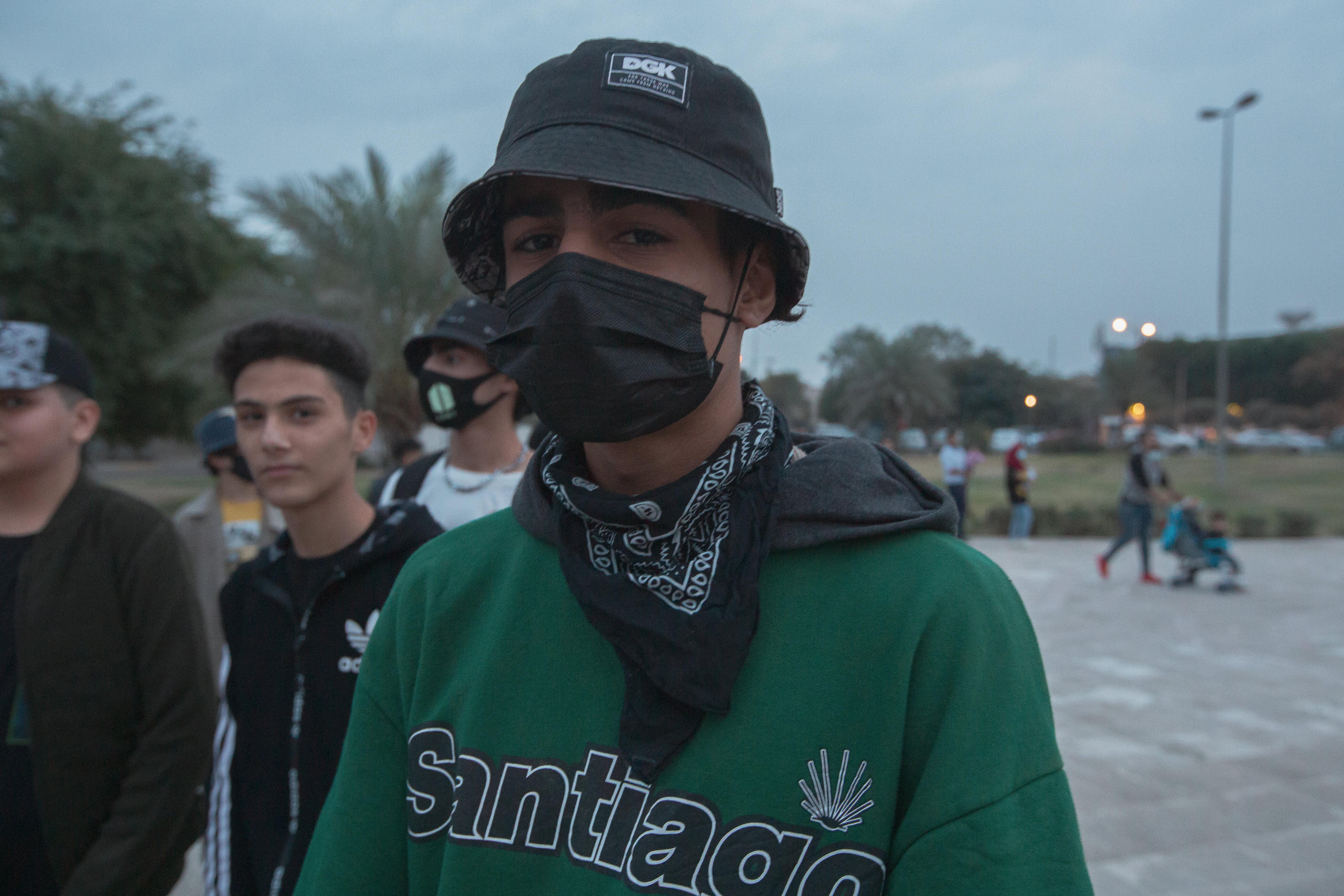 Haider Ramadan adalah skater 18 tahun yang berasal dari Husseiniya, kota miskin di timur laut Baghdad.