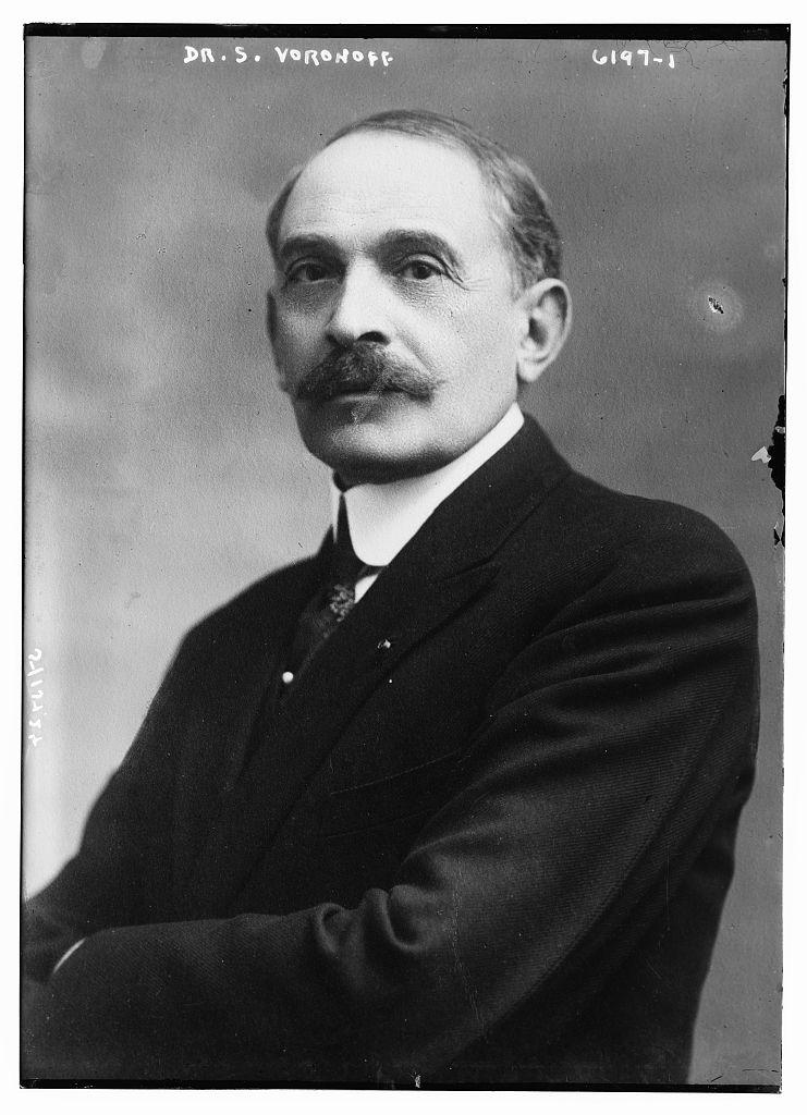 Serge Abrahamovitch Voronoff.