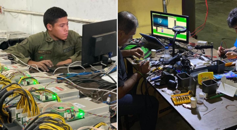 venezuela bitcoin mining