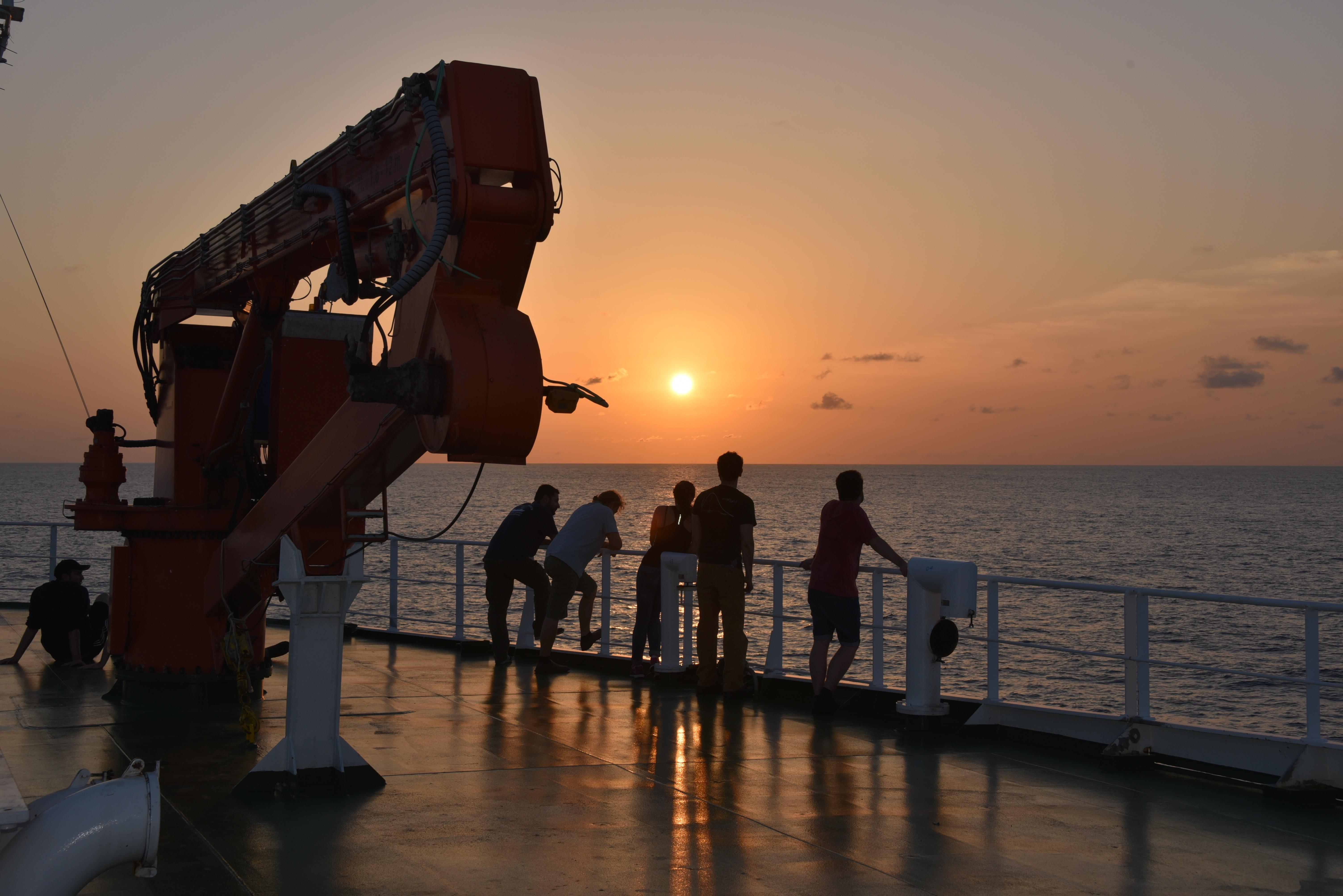 Di atas kapal ekspedisi. Foto: Universitas Southampton