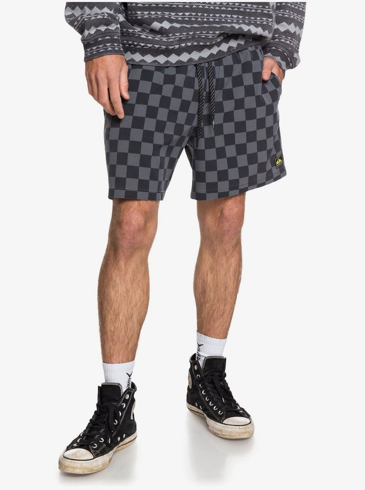 Quicksilver Heritage Check Swim Shorts