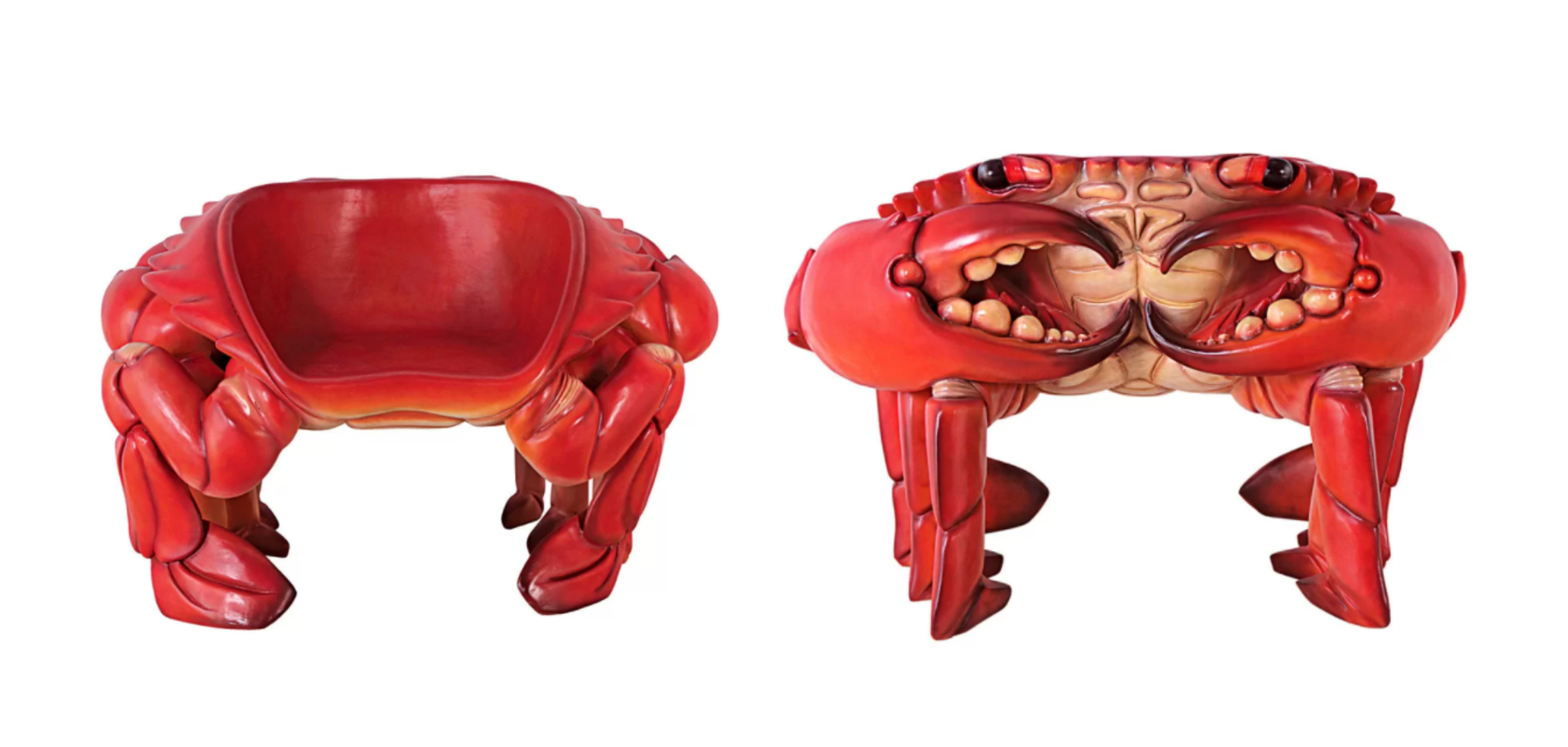 Design Toscano King Crab Chair