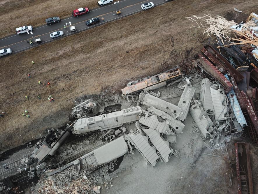 Granite Canyon derailment