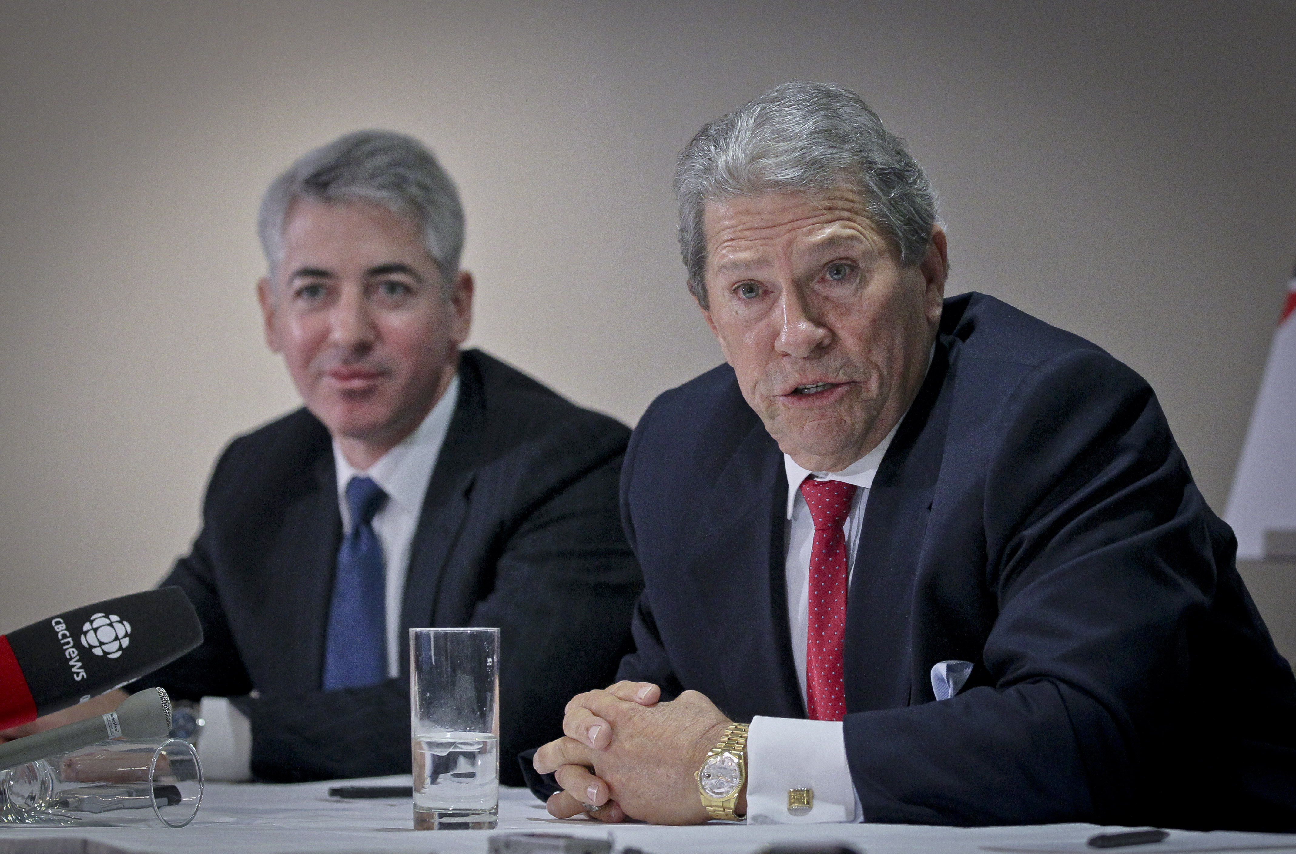 Ackman and Harrison
