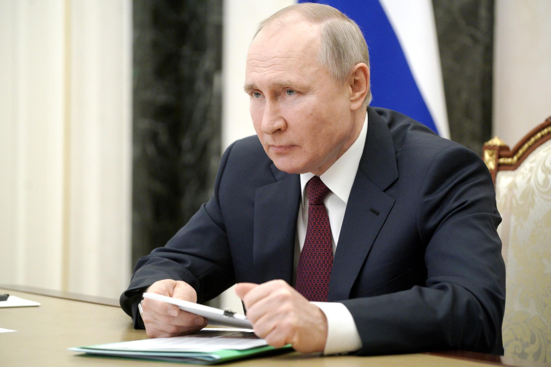 Vladimir Putin. Photo: Alexei DruzhininTASS via Getty Images