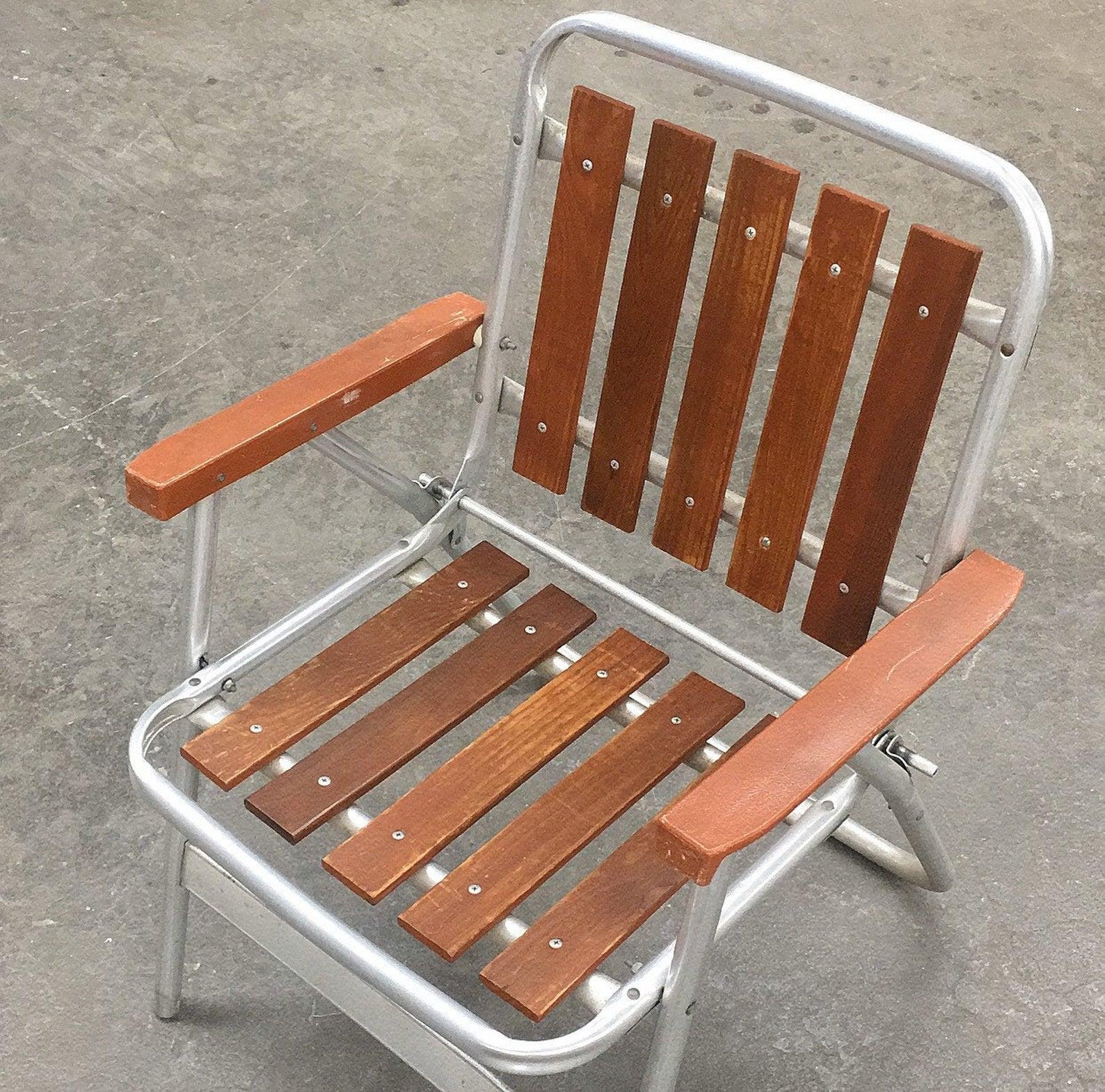 Aluminum Midcentury Chair