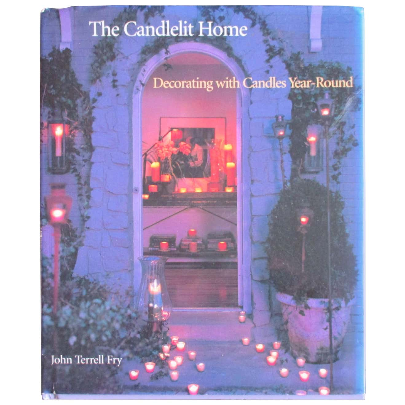 Vintage Decorating with Candles All Year Round Coffee Table Book