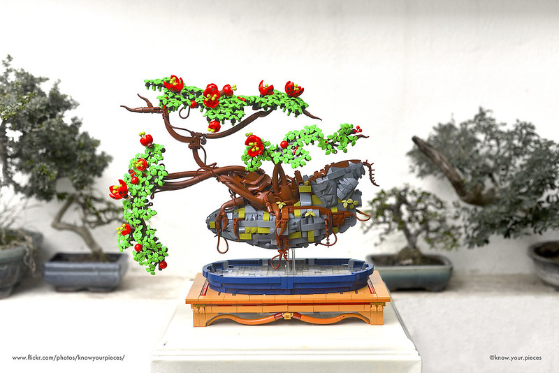 Desain bonsai yang disusun Hoang Dang