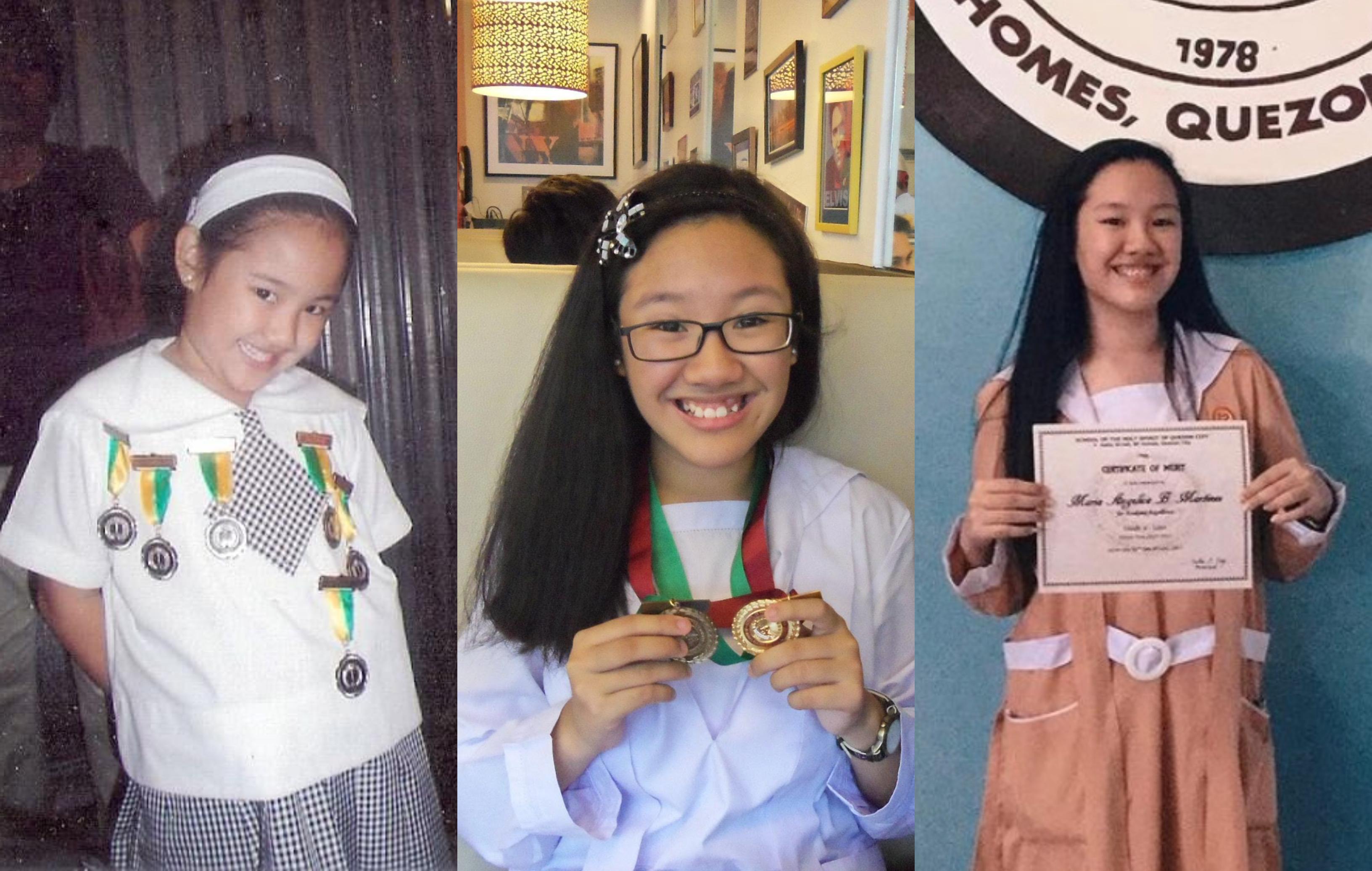 Penghargaan yang diterima penulis saat TK, SD dan SMA.