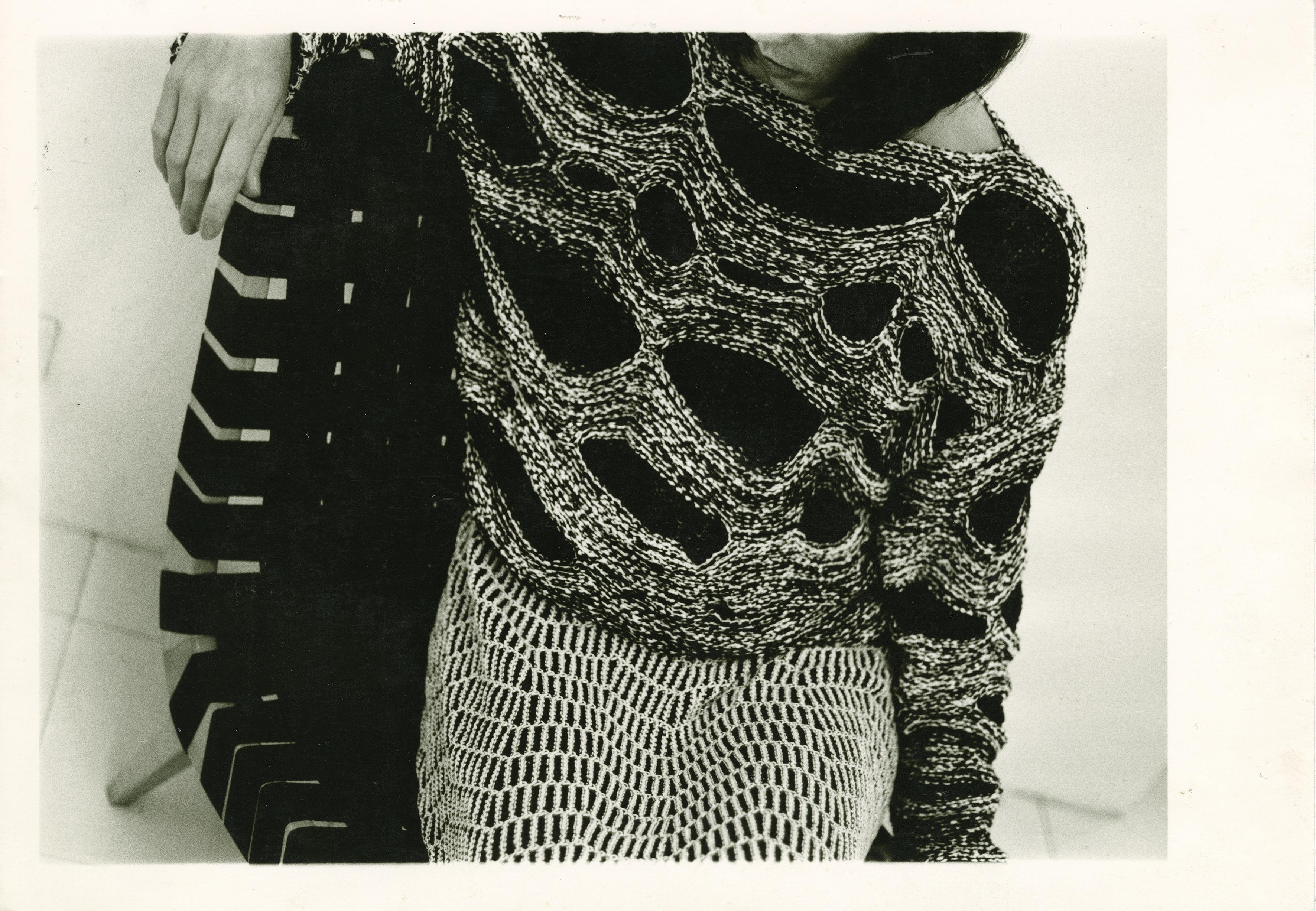 Silke Grossmann, drawing for Claudia Skoda, collaboration with Cynthia Beatt, antique silver gelatin mold, 1983, © Silke Grossmann