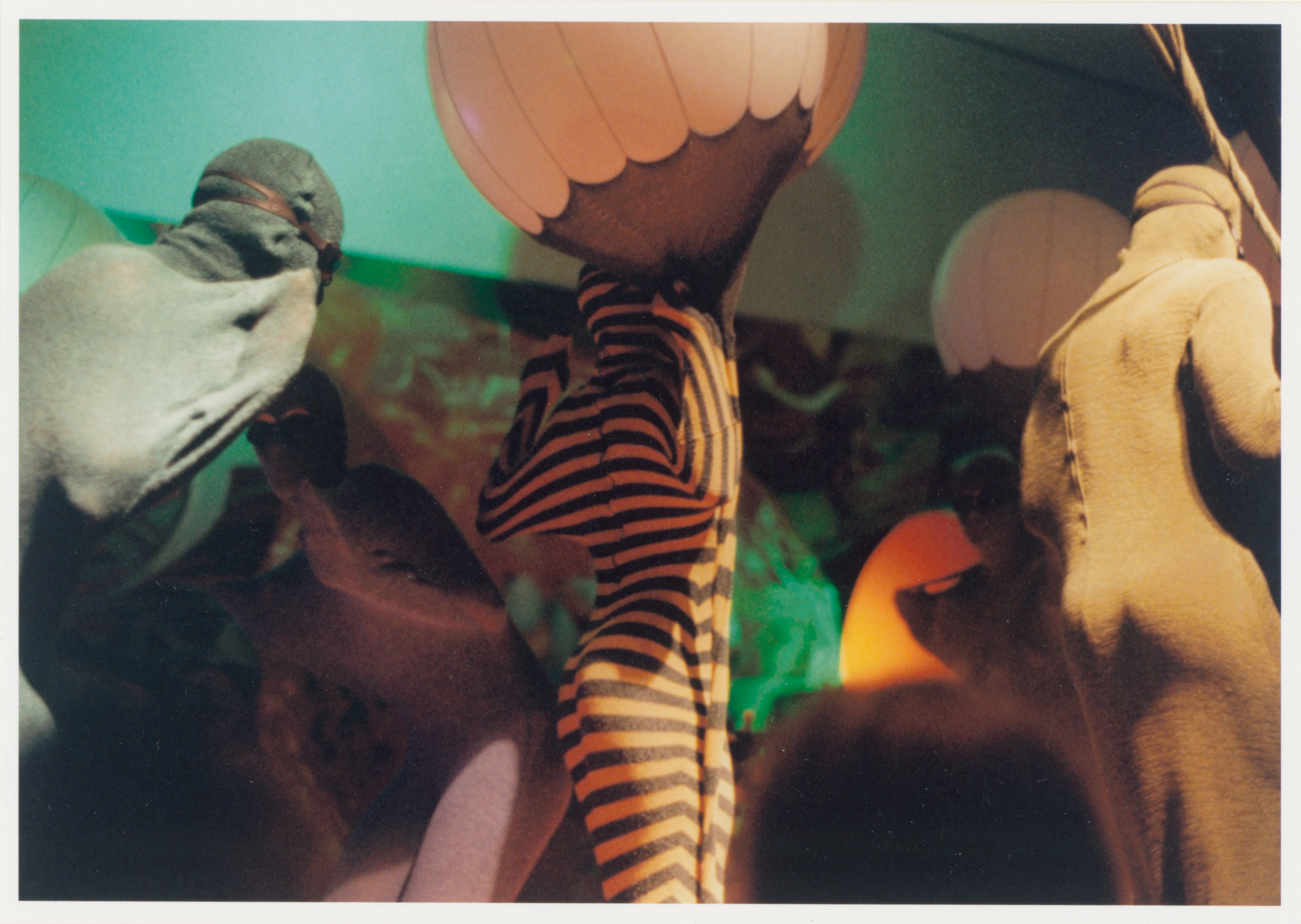 Gertrude Goroncy, Untitled (Deep Dive for the Whales, Deutsche Guggenheim), C-Print, 1997, © Gertrude Goroncy
