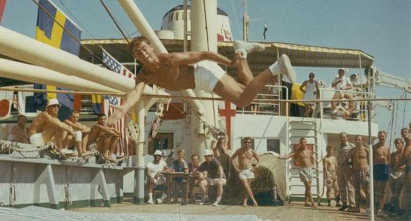 Olympic games at sea