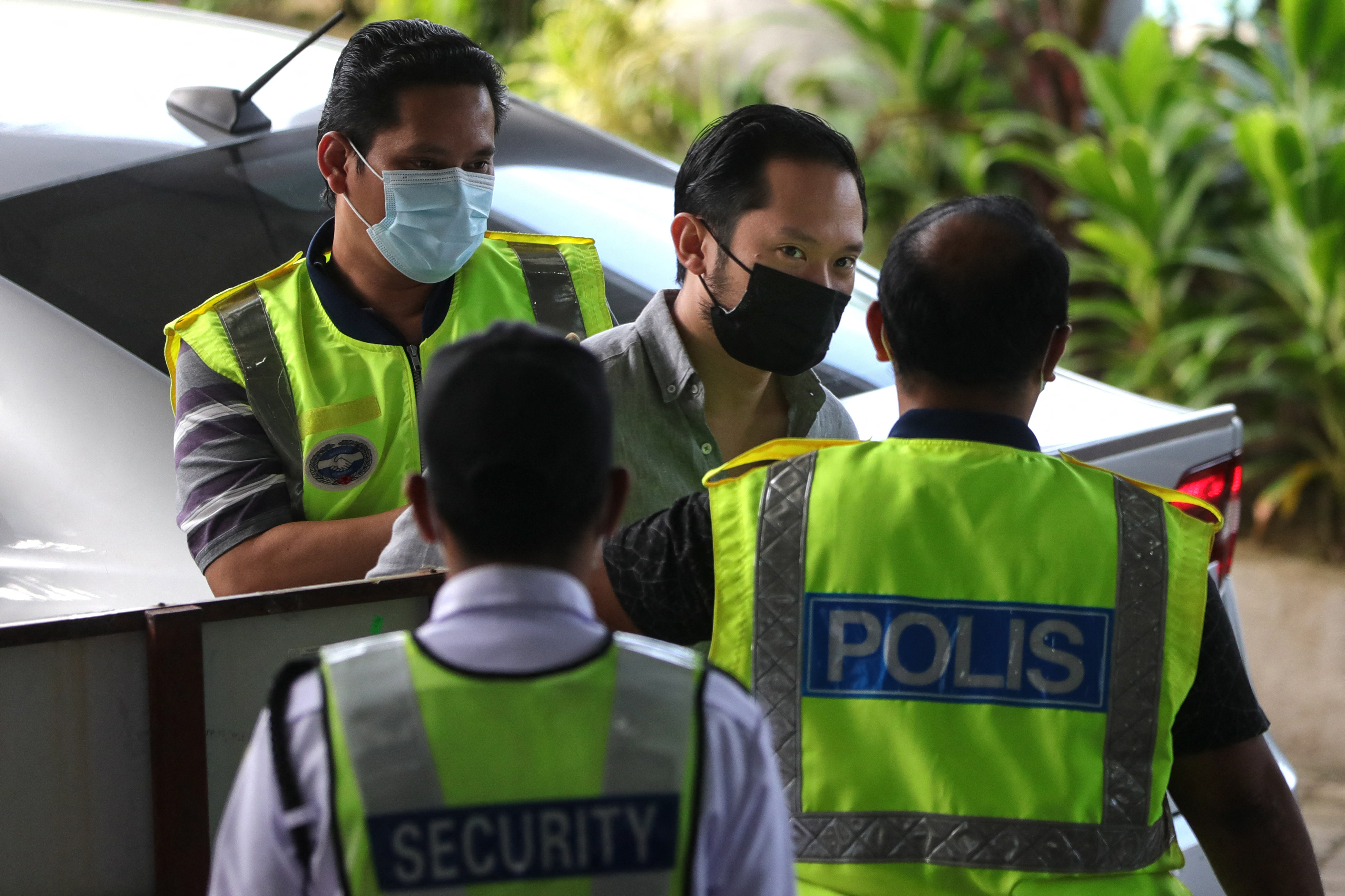 Sugarbook founder Darren Chan arrives at court in Malaysia. Photo: FAHMI DAUD / AFP