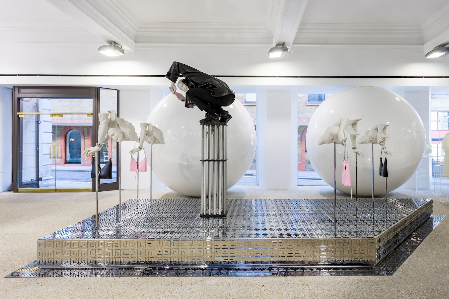 Givenchy Installation at Dover Street Market London