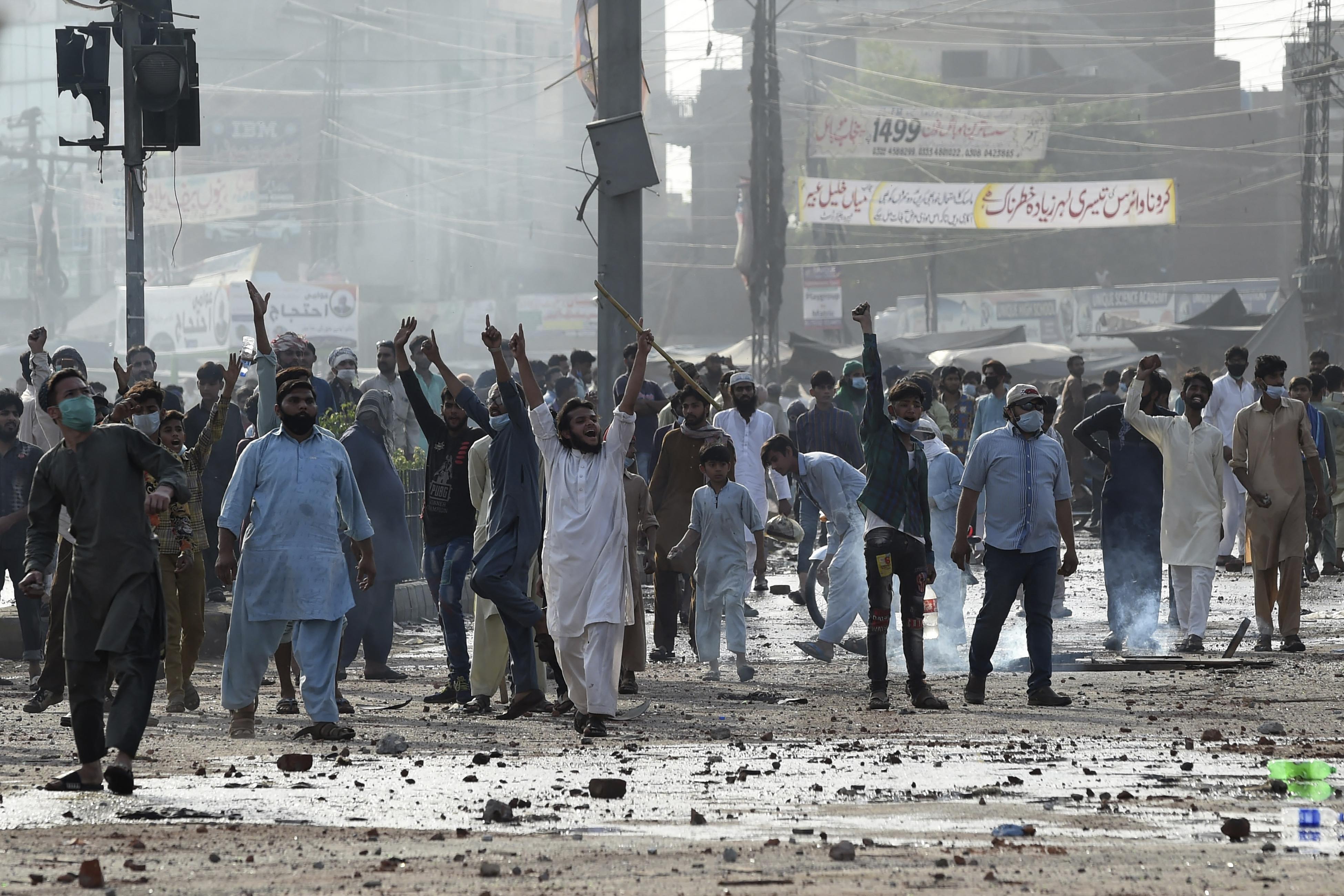 pakistan protest tehreek-e-labbaik