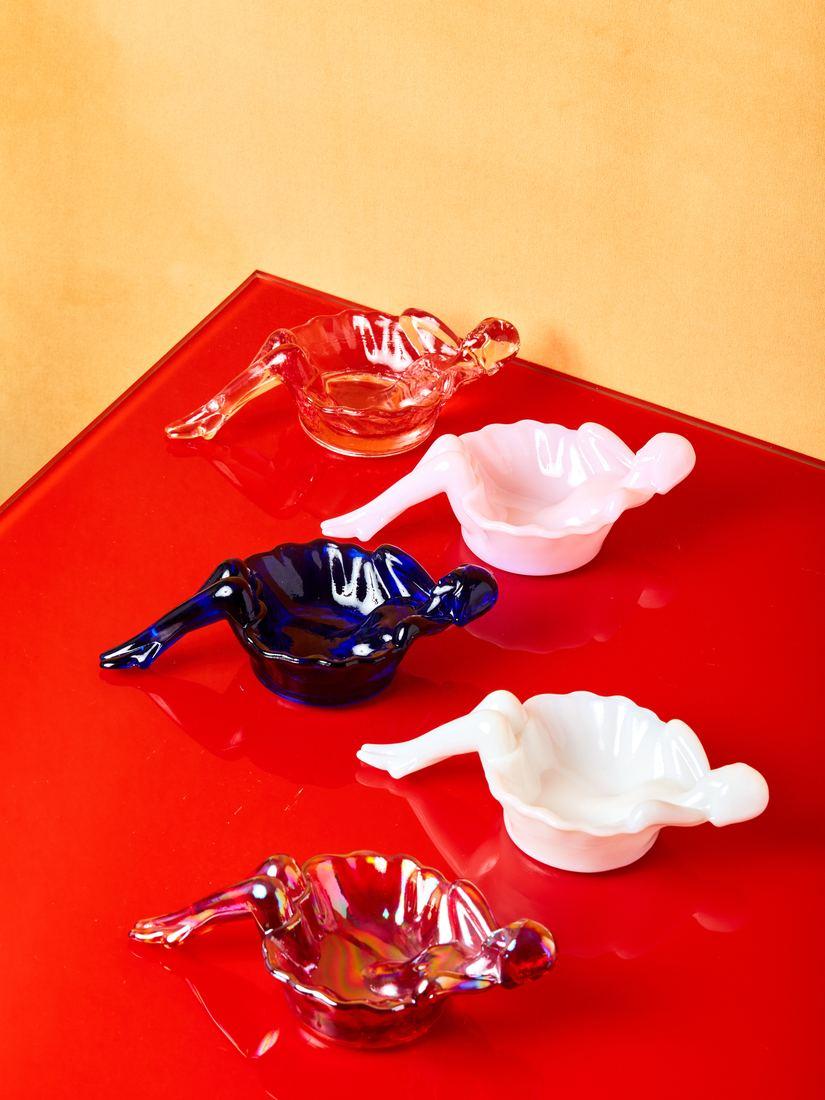 Mosser Glass Lady ashtray