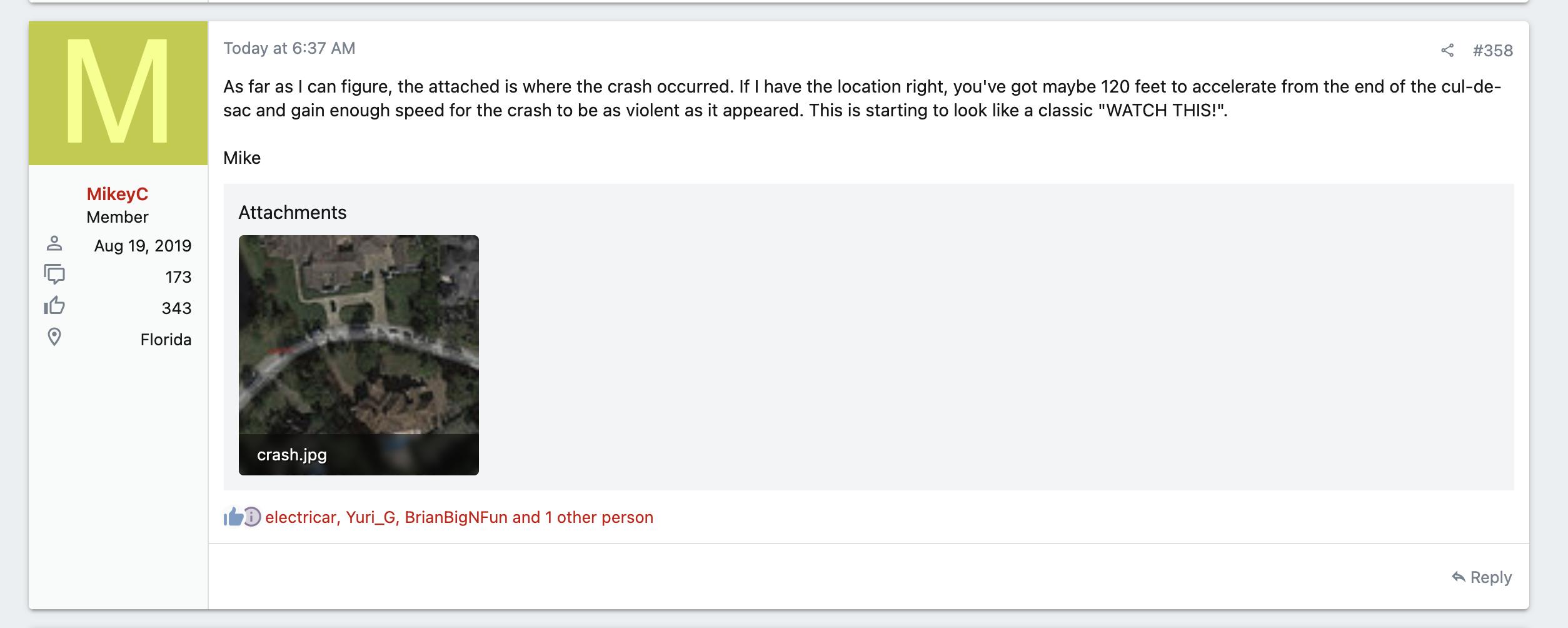 Tesla Motors Club screenshot