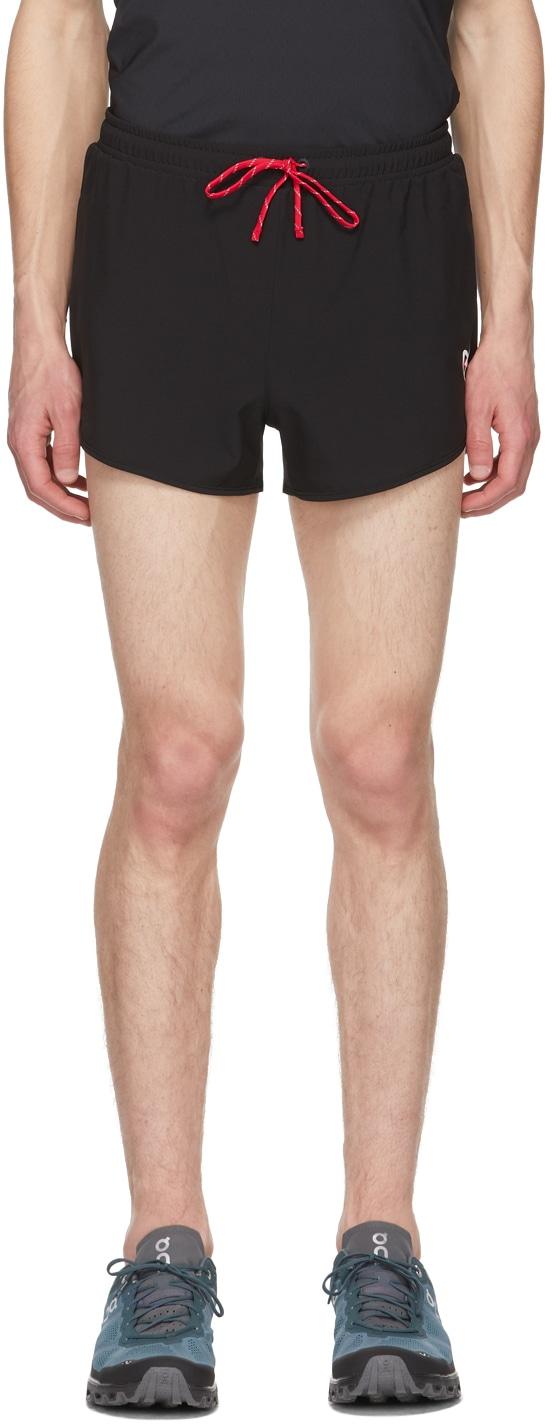 District Vision Black Shorts