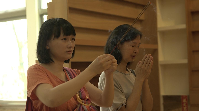 Chen-yun dan ibunya.