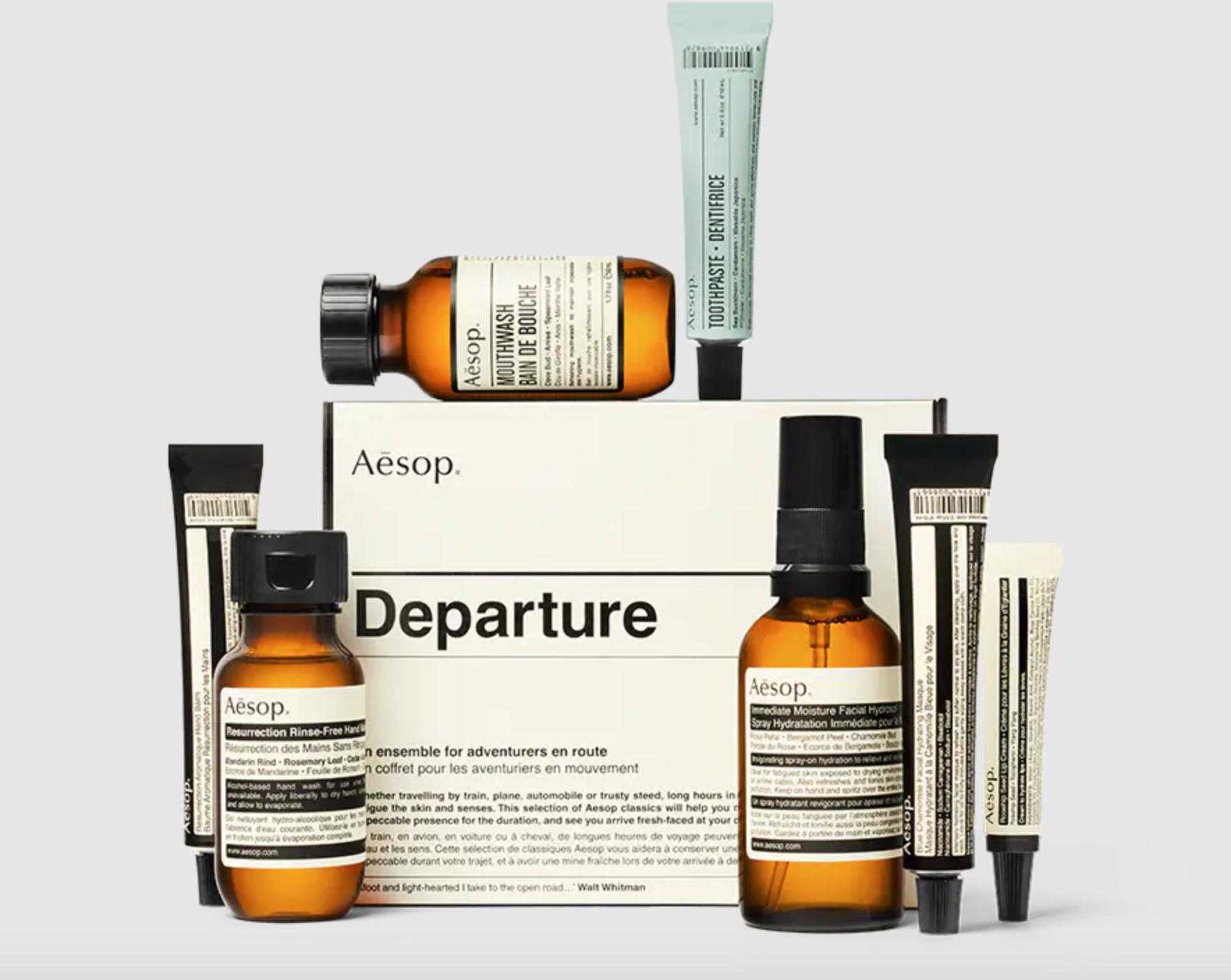 Aesop Travel Kit