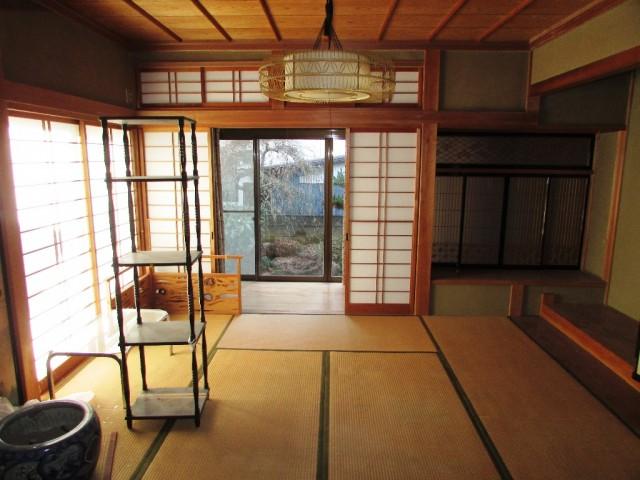 Rumah kosong bergaya tradisional di Nagano