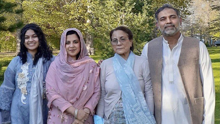 Yumna Salman, Madiha Salman, Talat, and Salman Afzaal were killed on Sunday.