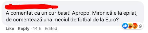 ioana cosma comentatoare femeie fotbal euro 2020