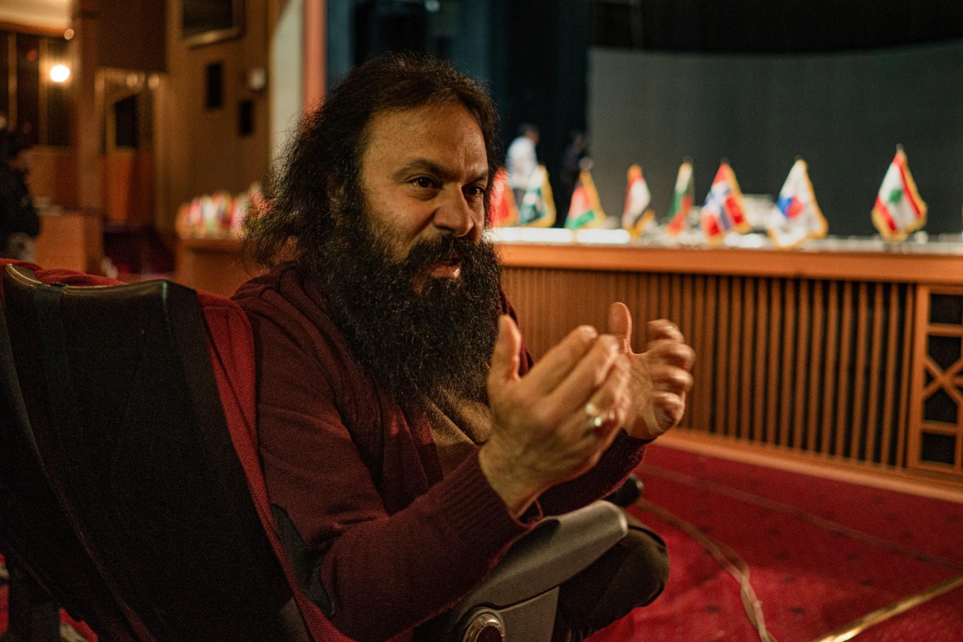 "Kourosh Zarei, sutradara film ""Jihadi"" di Teheran."